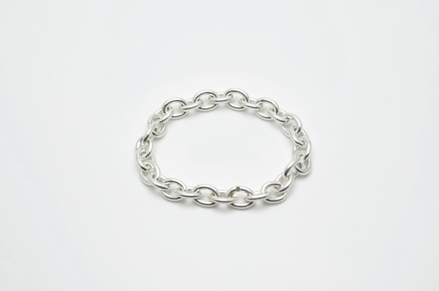 BG-007    Oval Chain Bracelet  L